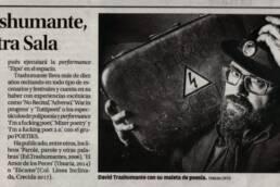 Diario de Ibiza | Retrato fotográfico del poeta David Trashumante.
