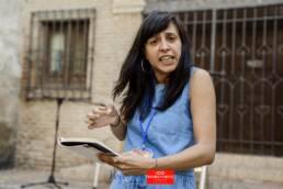 Voix Vives 2017 | Reportaje fotográfico del festival internacional de poesía Voix Vives en Toledo 2017. La poeta Deborah Vukusic por el fotógrafo editorial, publicitario y de reportaje freelance de Madrid, Demian Ortiz.