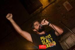 Voix Vives 2017 | Reportaje fotográfico del festival internacional de poesía Voix Vives en Toledo 2017. El poeta y slammer Dyso por el fotógrafo editorial, publicitario y de reportaje freelance de Madrid, Demian Ortiz.