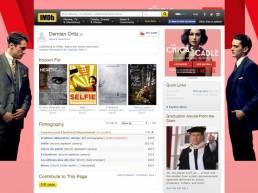 Fotógrafo rodajes IMDb Demian Ortiz