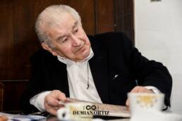 UCM | El poeta Antonio Gamoneda en el Día de la Poesía de la Universidad Complutense de Madrid.
