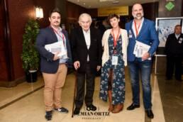 UCM | El poeta Antonio Gamoneda en el Día de la Poesía de la UCM. Junto a Sergio Santiago Romero, Cristina Sanz y Jose Manuel Lucía Megías.