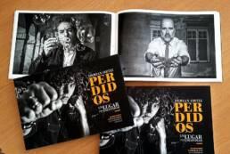 Cubierta e interior del foto libro