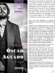 Triade Magazine | Fotografía de retrato del poeta Óscar Aguado.