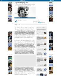Diario La Razón | Retrato fotográfico de la poeta Irene X, realizado por el fotógrafo Demian Ortiz, vistiendo la noticia