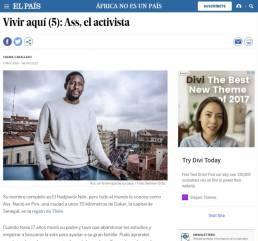 El País | Reportaje fotográfico documental Ass, el activista realizado por Demian Ortiz y Chema Caballero