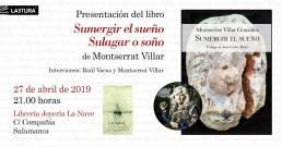 Lastura Ediciones | Inclusión del retrato fotográfico de la poeta Montserrat Villar González para la edición bilingüe del poemario