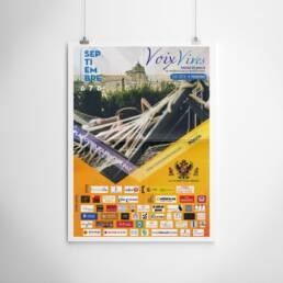Voix Vives   Fotografía y diseño gráfico de carteles y pósters publicitarios para la promoción del Festival Internacional de Poesía de Toledo Voix Vives 2019.