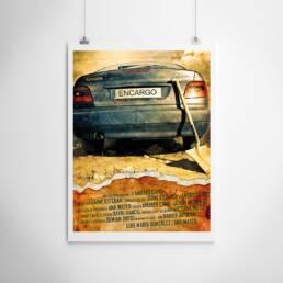 Producciones HellDorado | Fotografía y diseño gráfico del cartel cinematográfico del cortometraje ´Encargo´ dirigido por Ándres Cano.
