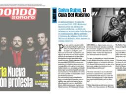 Mondo Sonoro | Publicaciones de fotografía en prensa. Retrato fotográfico del escritor y guionista Salva Rubio