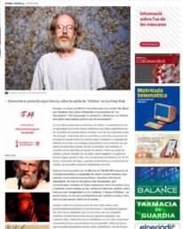 El Periodic | Retrato fotográfico de Enrique Falcón en el diario online Valencia Plaza, realizado por el fotógrafo Demian Ortiz.