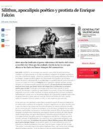 CulturPlaza | Retrato fotográfico de Enrique Falcón en el diario online elperiodic.com, realizado por el fotógrafo Demian Ortiz para la entrevista