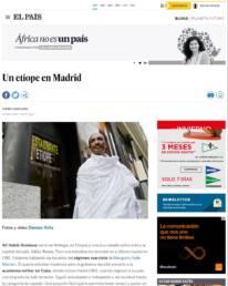 El País | Reportaje fotográfico junto a Chema Caballero para el blog África no es un País