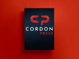 Diseño de logotipo profesional, imagen corporativa, manual de uso de marca y papelería corporativa para la agencia de fotografía Cordon Press, en Madrid.