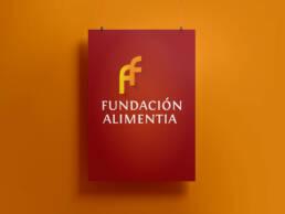 Rediseño de logotipo profesional para la Fundación Alimentia.