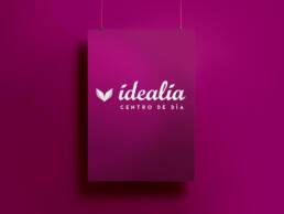 Idealia Centro de Día para Mayores | Creación de naming, diseño de imagen corporativa y branding.