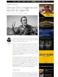 El Hype | Entrevista al fotógrafo Demian Ortiz por Jesús García Cívico sobre el fotolibro Perdidos.Un lugar para encontrar en la revista el hype.