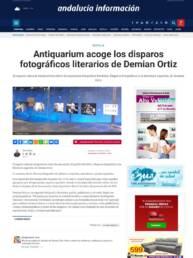 Andalucía Información | Artículos entrevistas reportajes y reseñas sobre el fotolibro y la exposición Perdidos. Un lugar para encontrar