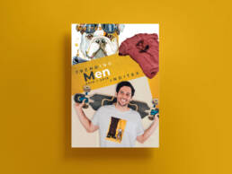 Diseño gráfico para dossier de ventas de fotografías para grupo Inditex.