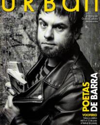Retrato fotográfico del articulista y escritor Sergio C. Fanjul para vestir la portada de la revista Urban. Dicha fotografía da pie al artículo