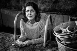 Perdidos. Un lugar para encontrar | Retrato fotográfico de la poeta Rosana Acquaroni.