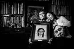 Perdidos. Un lugar para encontrar | Retrato fotográfico de las poetas Francisca Aguirre y Guadalupe Grande.