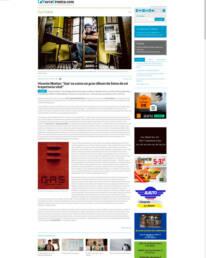 La Nueva Crónica | Retrato fotográfico para su publicación en prensa digital del poeta Vicente Muñoz Álvarez realizada por Demian Ortiz.