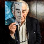 Universidad Complutense Madrid | Fotografía de retrato editorial del poeta Antonio Gamoneda Premio Nacional de Literatura